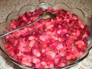 Картофельно-свекольный салат