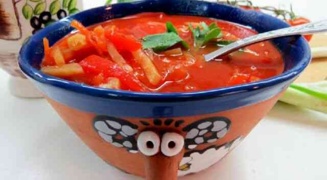 Блюдо бесшлаковой диеты 1